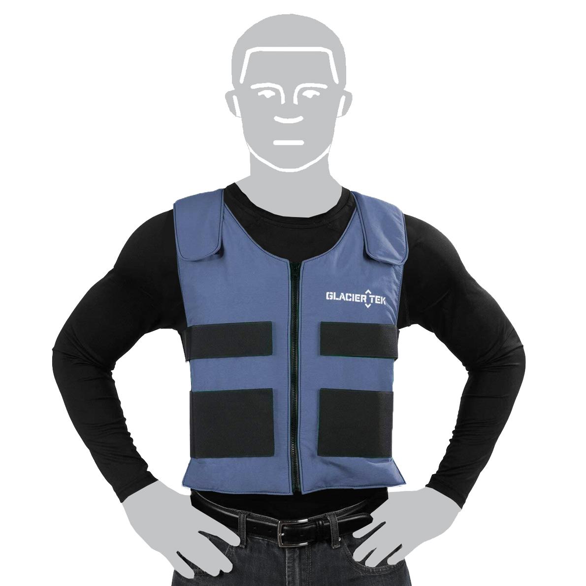 Glacier Tek Cooling Vest Blue image