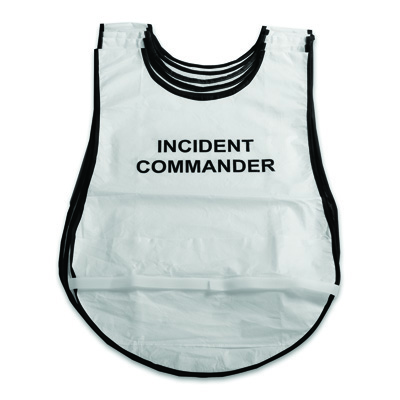 Command Section Hospital Incident Command System Vests