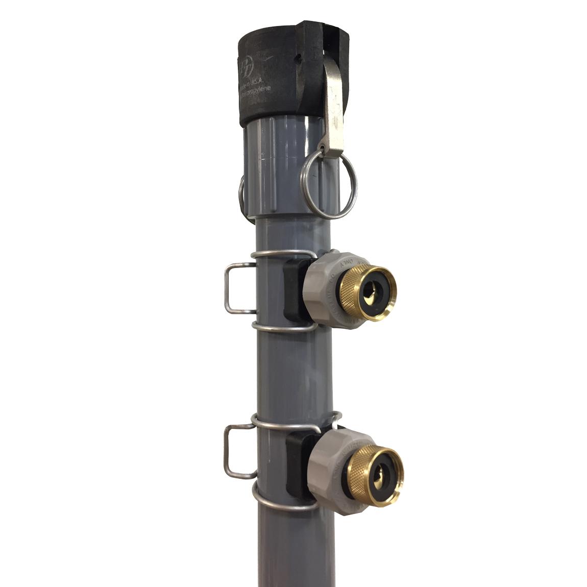 HazMat shower water hose inlet image