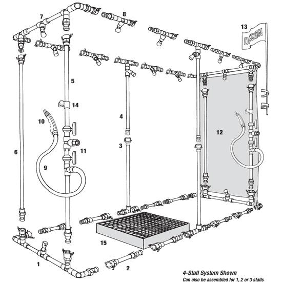 MASCAS Shower Parts Ordering image