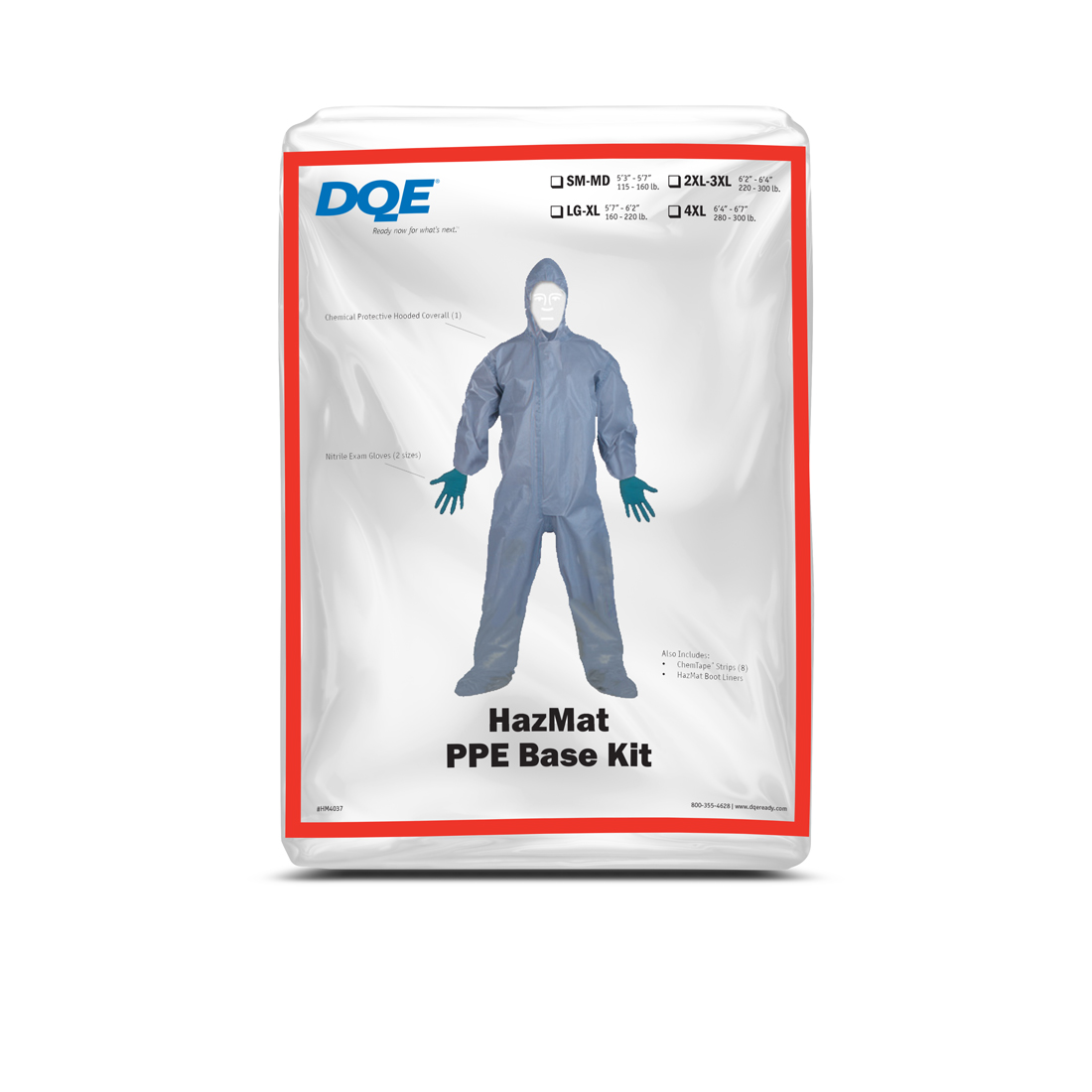 HazMat PPE Base Kit Package image