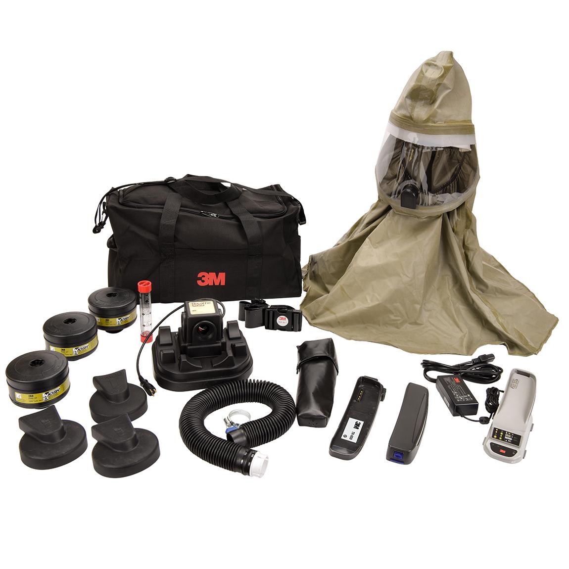 3M Breathe Easy PAPR System - CBRN  Versaflo battery kit image