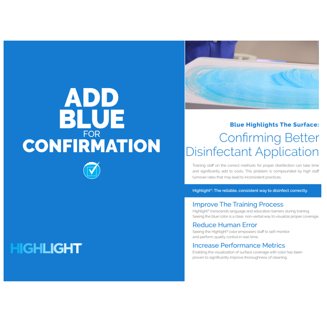 Kinnos Highlight Disinfection Application image