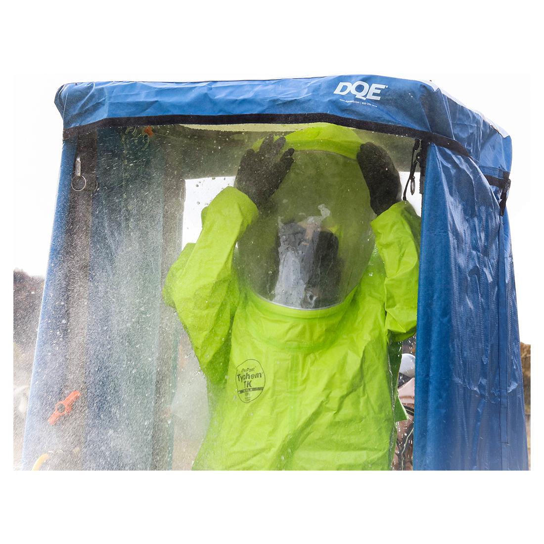 HazMat Shower in use image