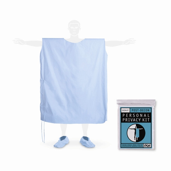 Decontamination Personal Privacy Kit