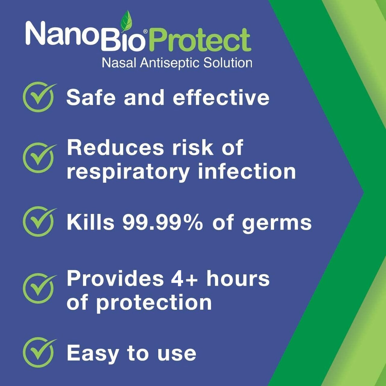 NanoBio Protect Nasal Sanitizer Safe and Effective image