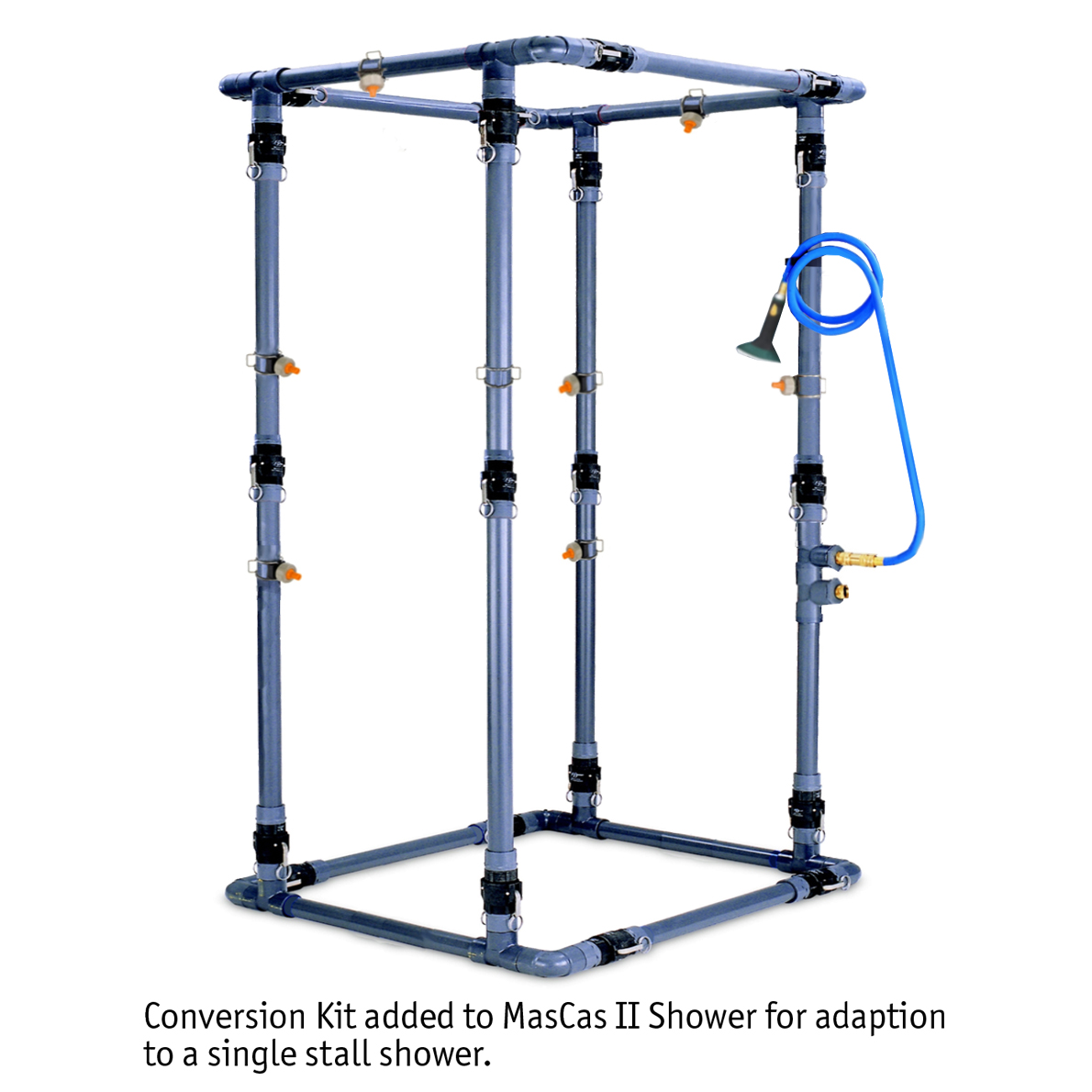 Single Stall Decon Shower Conversion Kit added image