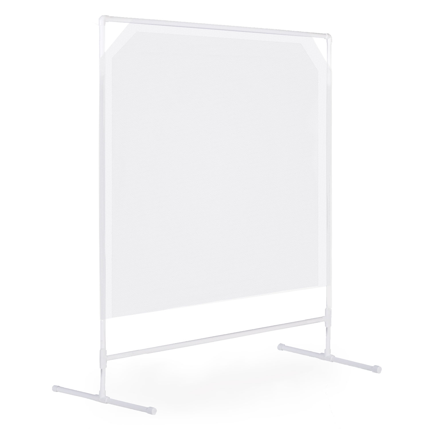 Opaque Floor Standing Barrier Screens image