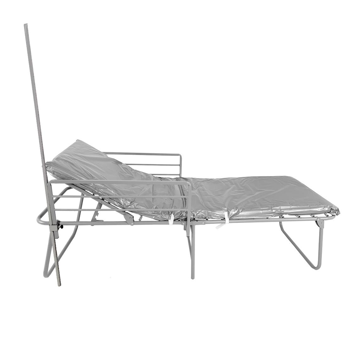 FEMA-ADA Cot with Side Rails and IV Pole image