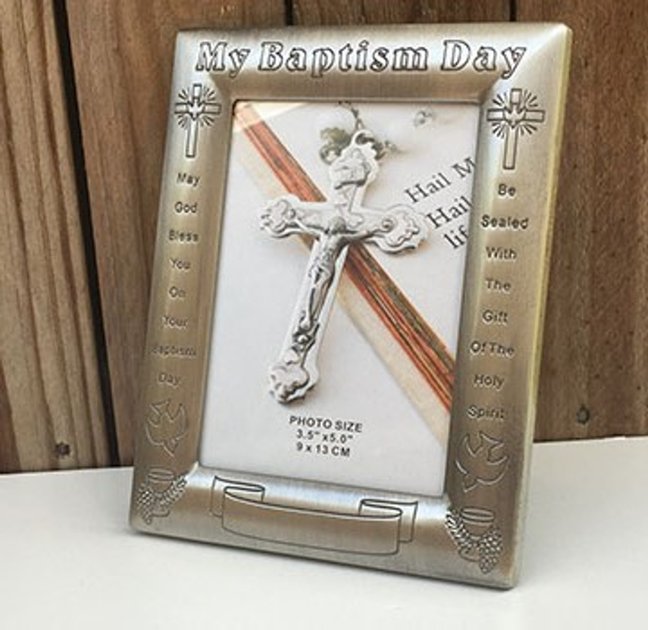 Boy/'s Baptism Christening Naming Day Hand Crafted Premium 6 x 6 inch Card