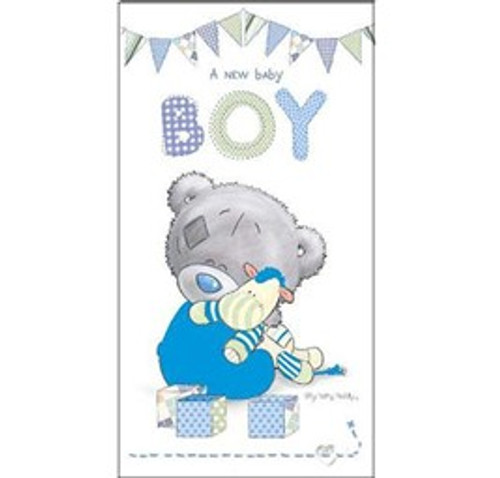 Tatty Teddy Baby Boy Card