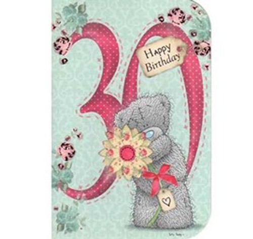 Tatty Teddy 30th birthday Card