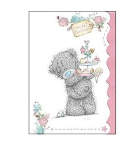 Tatty Teddy 60th birthday Card