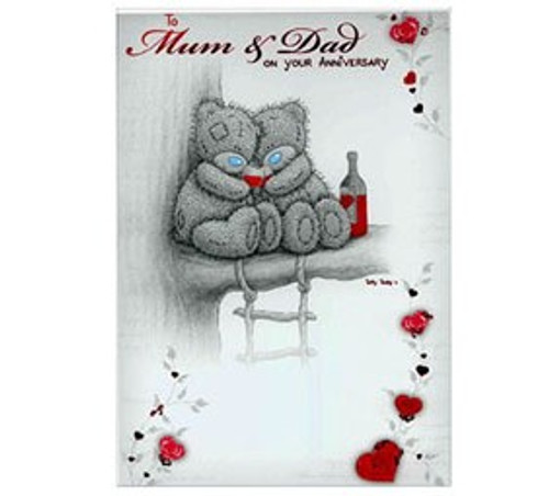 Tatty Teddy Mum and Dad Anniversary Card