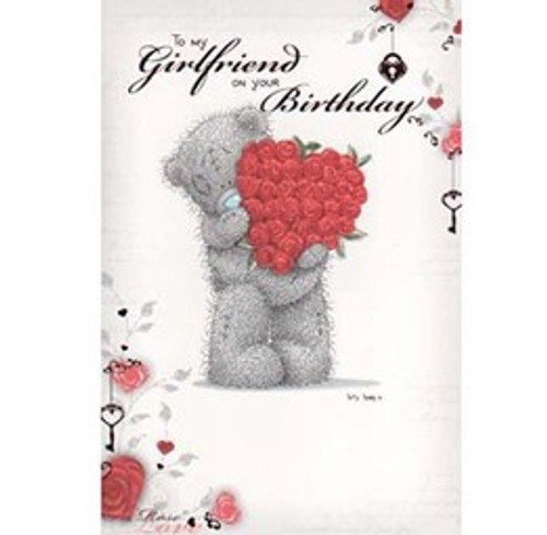 Tatty Teddy Girlfriends Birthday Card