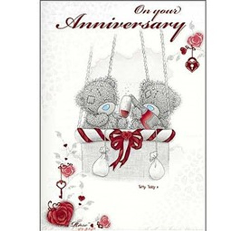 Tatty Teddy 'On Your Anniversary' Card