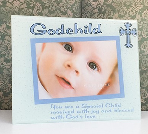 Godchild Glass Photo Frame - Boy or Girl