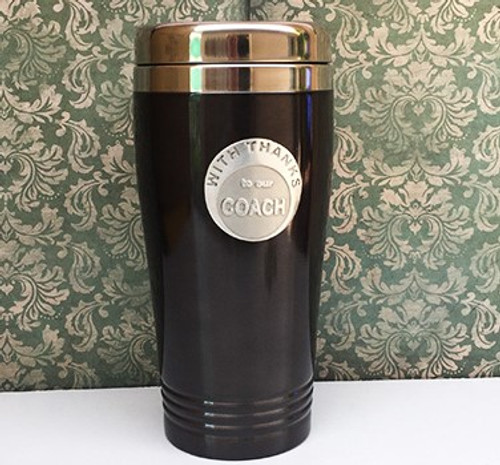 Stainless Steel Coffee Travel Mug - To Our Coach