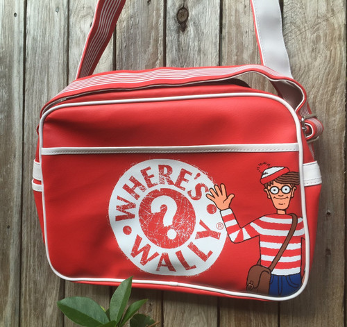 Where's Wally' Children's Retro Satchel