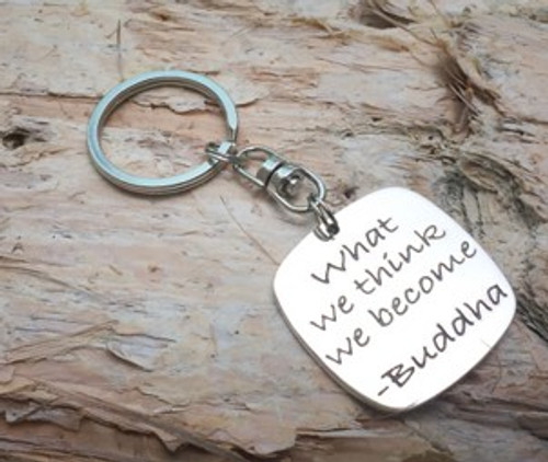 Poetic Pieces Key Ring - Buddha
