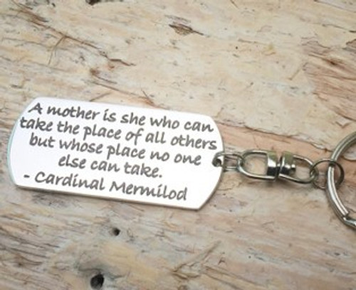 Poetic Pieces Key Ring - 'Mothers'