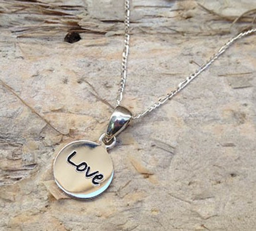 Poetic Pendant - Love