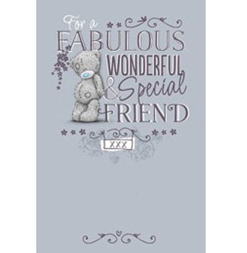 Tatty Teddy Happy Wonderful and Special Friend Birthday Card