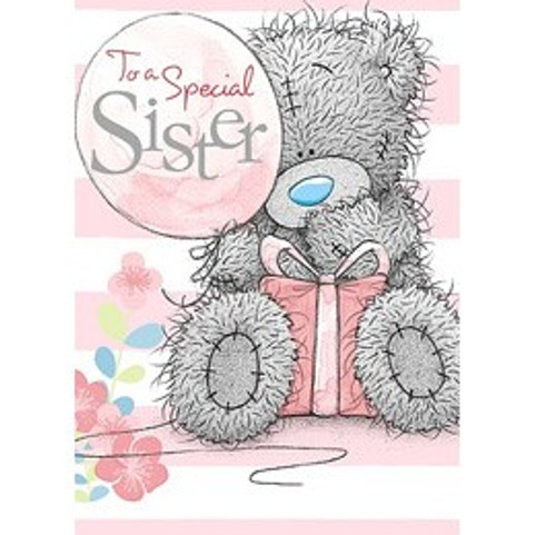 Tatty Teddy Sister Birthday Card