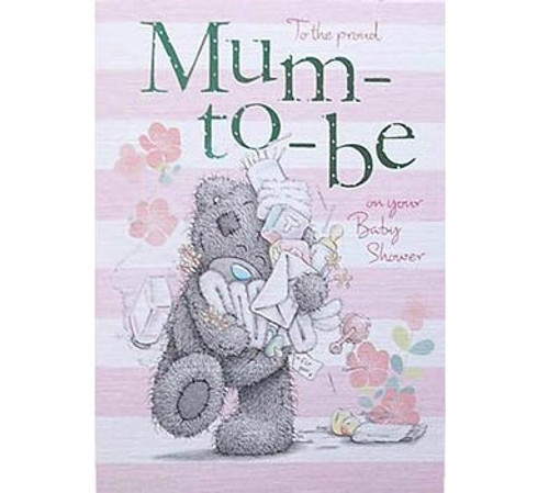 Tatty Teddy Mum-To-Be card