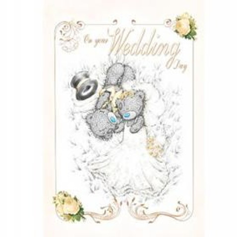 'On Your Wedding Day' Tatty Teddy