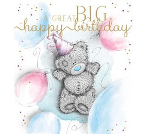 Tatty Teddy 'Great Big Happy Birthday' Card
