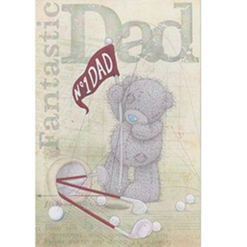 Tatty Teddy 'Fantastic Dad' Fathers Day Card