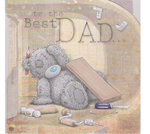 Tatty Teddy 'To The Best Dad' Fathers Day Card