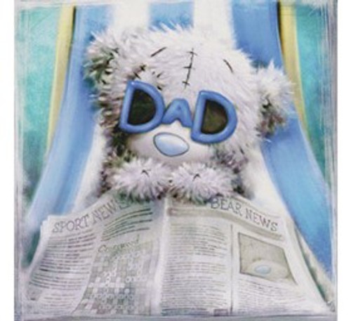 Tatty Teddy 'Dad' Fathers Day Card