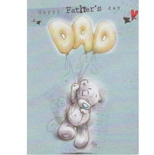Tatty Teddy 'Happy Fathers Day Dad' Fathers Day Card