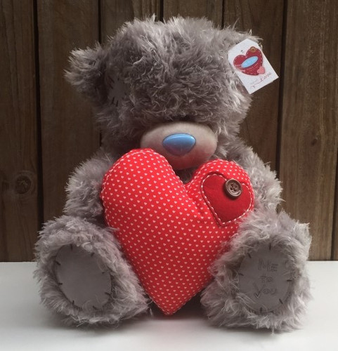 Valentines Tatty Teddy 'Big Heart'