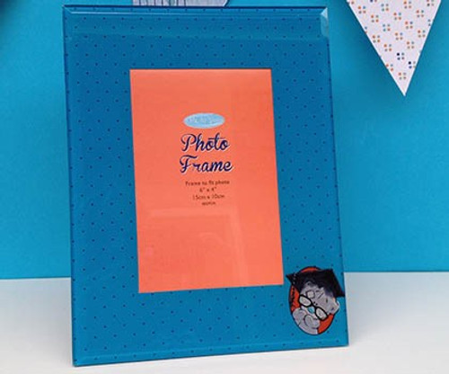 Tatty Teddy Graduation Glass Photo Frame
