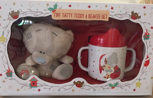 Tatty Teddy Baby Sippy Cup and Plush Toy