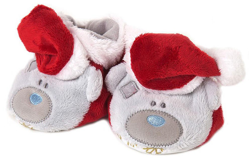 Tatty Teddy Christmas Booties