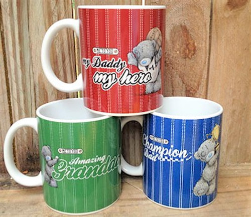Tatty Teddy Father's Day Mugs - 3 varieties