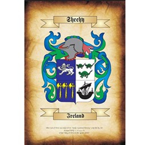 My Family Coat of Arms  - Emailed