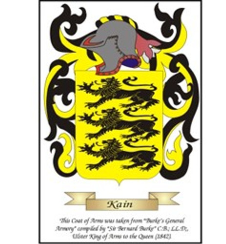 Coat of Arms  - Emailed on White background
