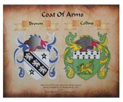Double Coat of Arms - emailed