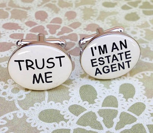 Men's Cufflinks - Real Estate
