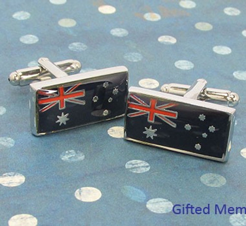 Men's Cufflinks - Australian Flag
