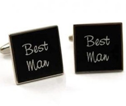 Men's Wedding Cufflinks - Best Man