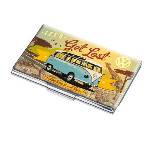 'Let's Get Lost' - Business Card Case