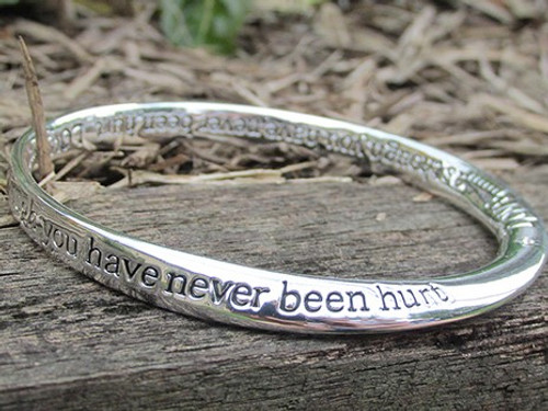 Equilibrium Bangle - 'Love...as though you have never been hurt'