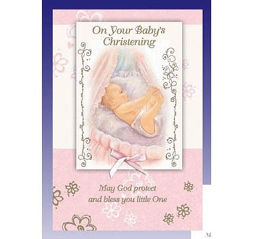 On Your Baby's Christening - Greeting Card