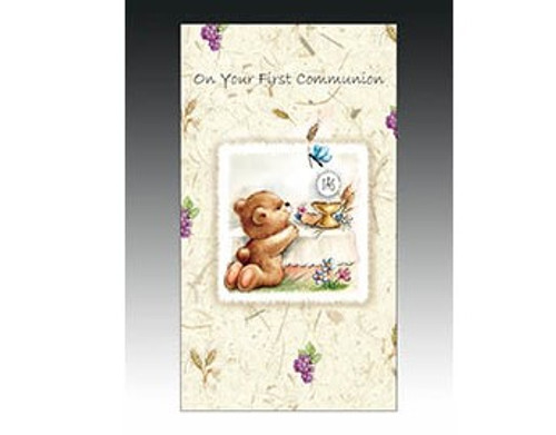 On Your First Communion - Greeting Card